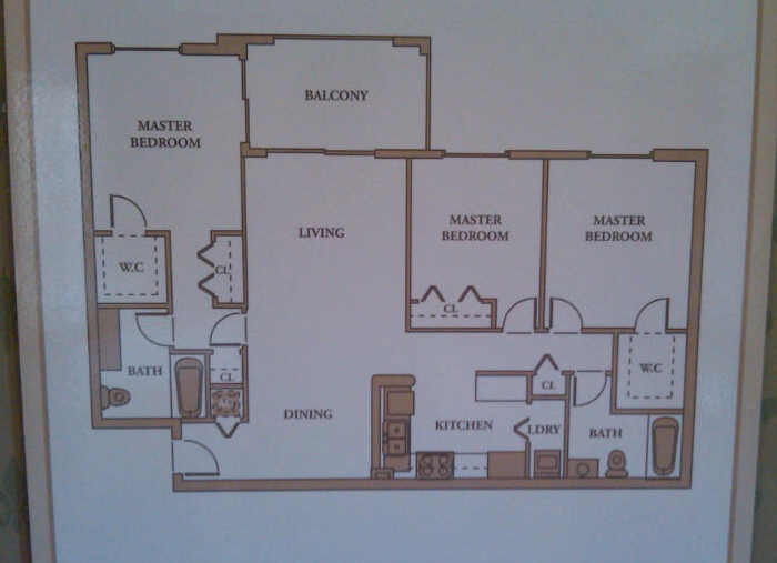 3 Bedroom Royal Grand Condo Floor Plans David J Rogers