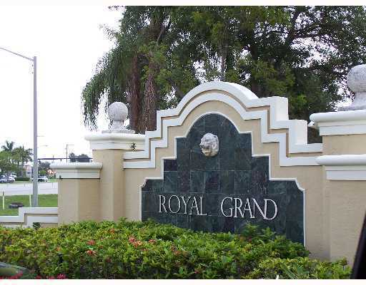 Royal Grand Condo Entrance
