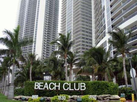Seasonal Rental in Beach Club Two – Hallandale Beach Florida