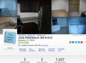Just Listed – 3340 Pinewalk DR #1512 , Margate, FL 33063