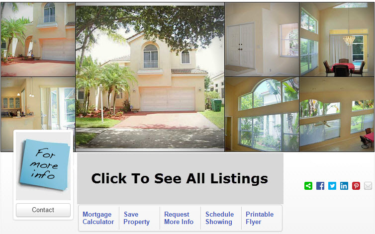 Homes For Sale Embassy Lakes Cooper City