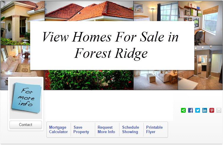 homes for sale in forest ridge davie florida