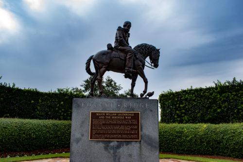 Statue In Forest Ridge