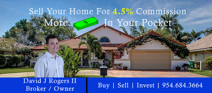 Sell Your Home at 4.5% Commission