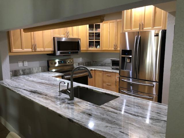 Remodeled Kitchen In Plantation