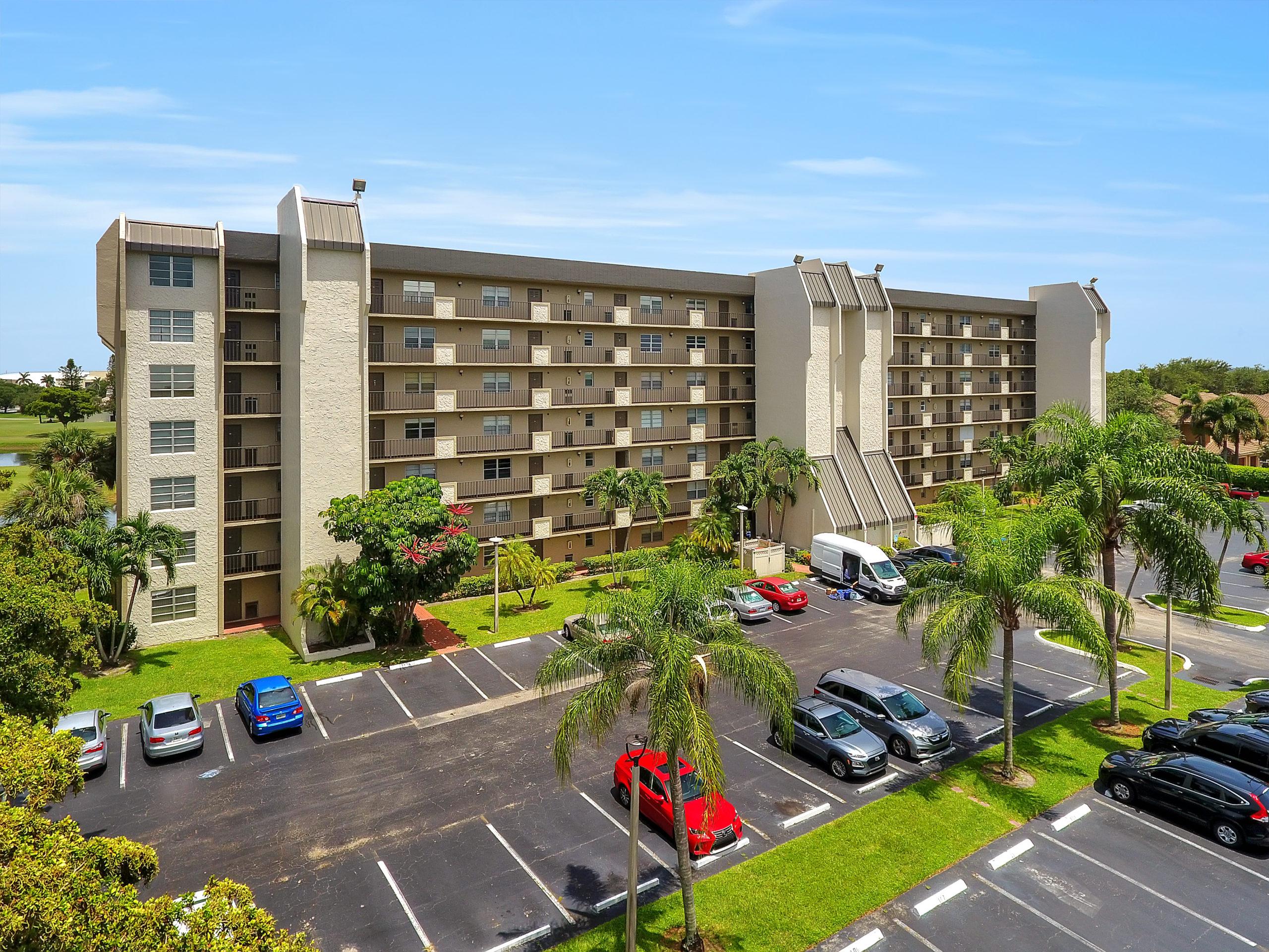 Aerial View Of Rolling Hills Condominium Building #7 in Davie Fl 33328