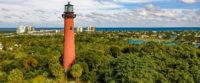Famous lighthouse near jupiter farms