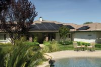 Home in Jupiter Florida With Solar Panels