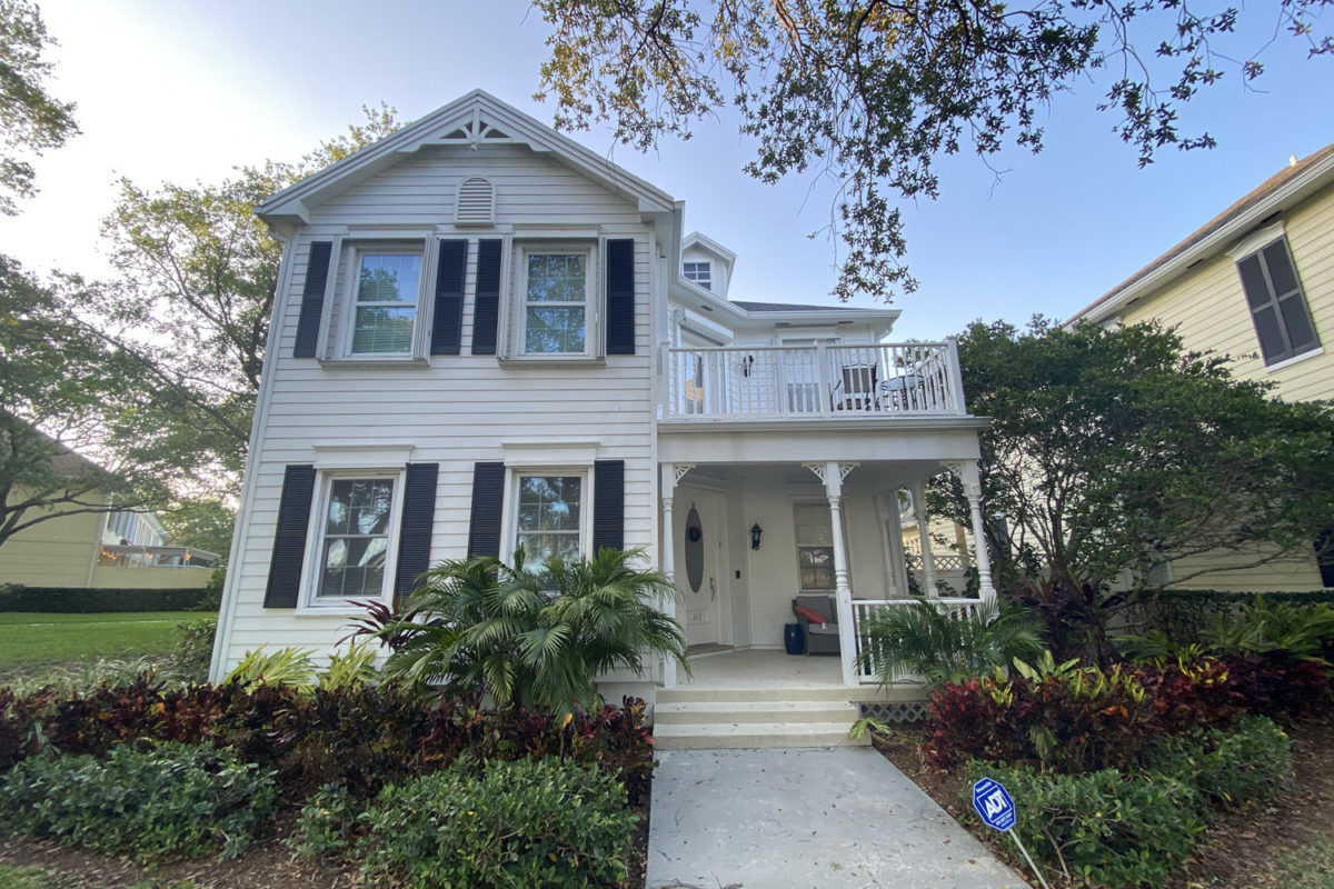 traditional two story home in the island at abacoa jupiter neighborhood