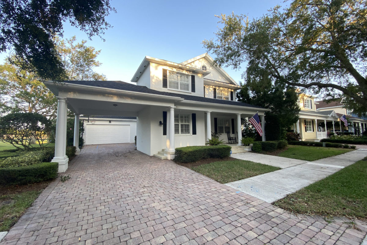two story home with covered carport in the island at abacoa jupiter fl