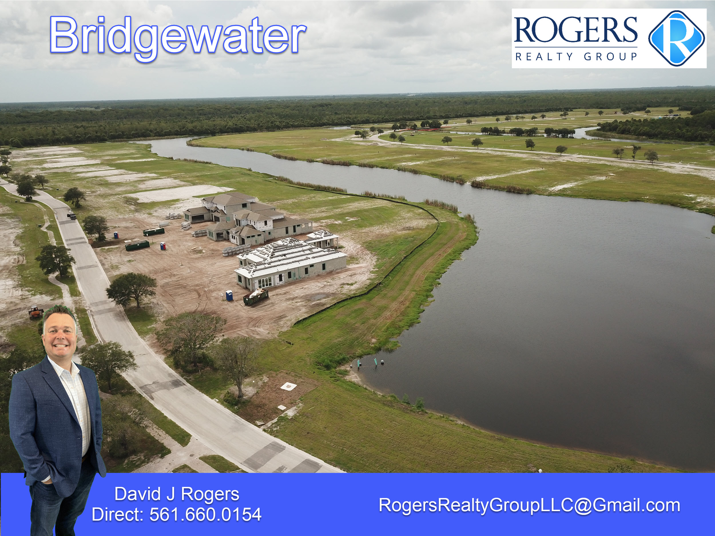 aerial view facing northeast in bridgewater gated community jupiter florida