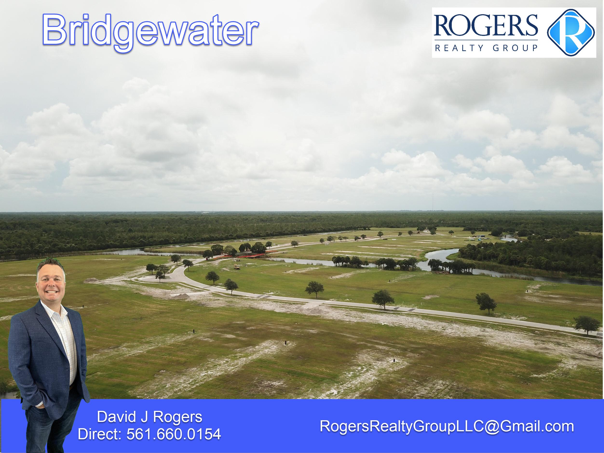 aerial view of bridgewater nieghborhood jupiter florida facing northwest towards stuart fl