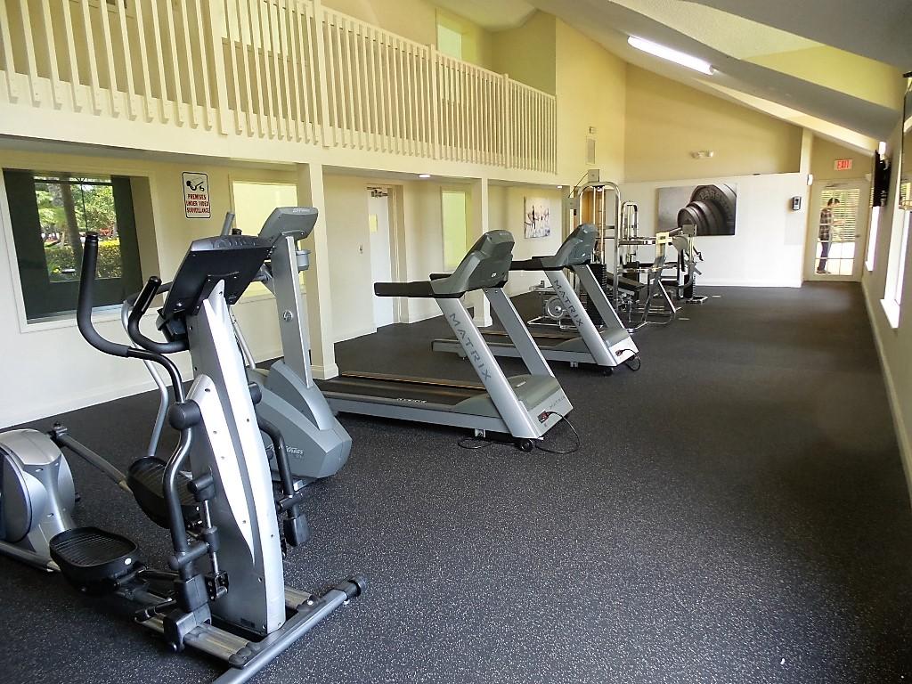 gym in isles at lago mar condominium sunrise florida